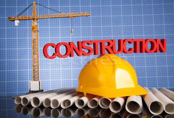 プロジェクト 図面 建物 建設 ビジネス 金融 ストックフォト © JanPietruszka