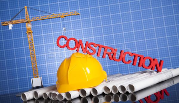 Gru progetti business costruzione Foto d'archivio © JanPietruszka