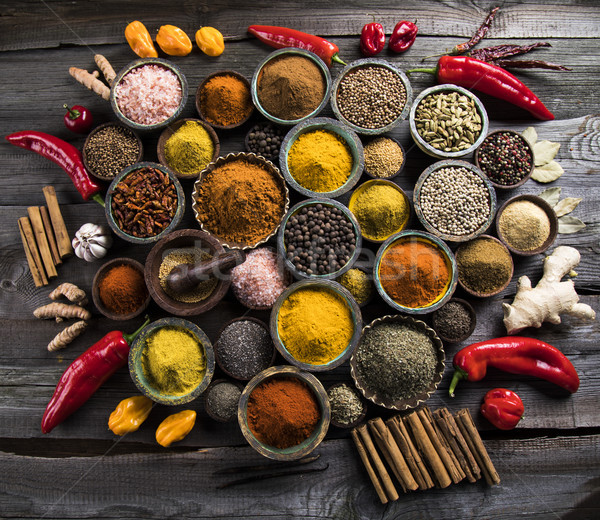 Various spices selection Stock photo © JanPietruszka