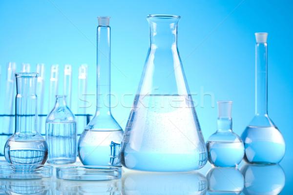 Stockfoto: Laboratorium · glaswerk · medische · lab · chemische · tool