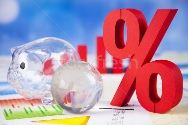 Symbol percent, Concept of discount  Stock photo © JanPietruszka