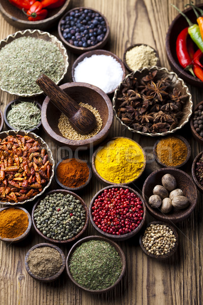 Stock photo: Cooking ingredient,spice, orintal cuisine vivid theme