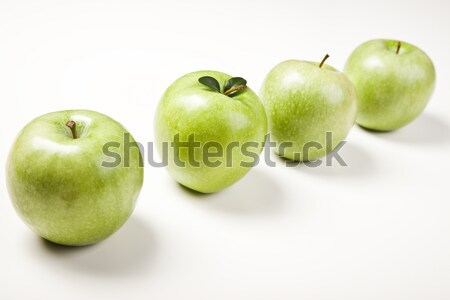 Fruit Mix Bright Colorful Tone Concept Stock Photo