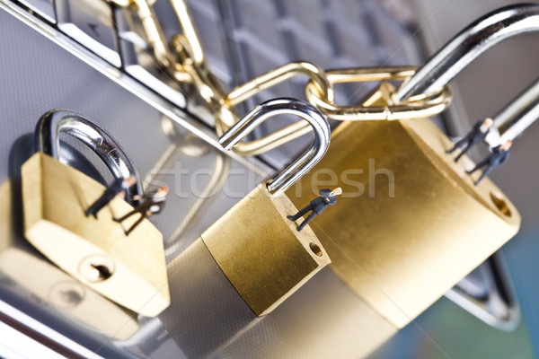 вирус безопасности современных сеть бизнеса Сток-фото © JanPietruszka