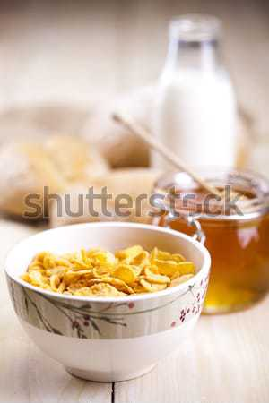 Bread background Stock photo © JanPietruszka