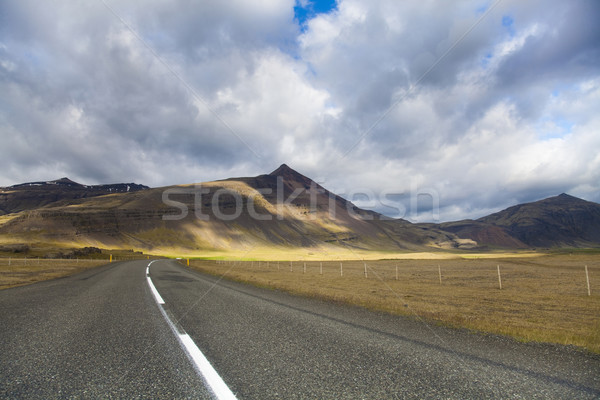 Scenic road on Iceland  Stock photo © JanPietruszka