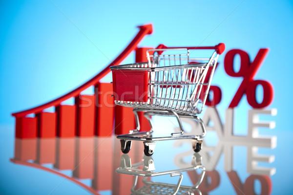 ストックフォト: ショッピングカート · ビジネス · 食品 · ショップ · 市場 · ストア