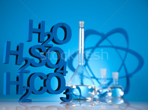 Research and experiments, Chemistry formula  Stock photo © JanPietruszka