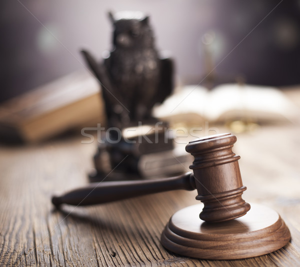 суд судья прав правосудия молота правовой Сток-фото © JanPietruszka