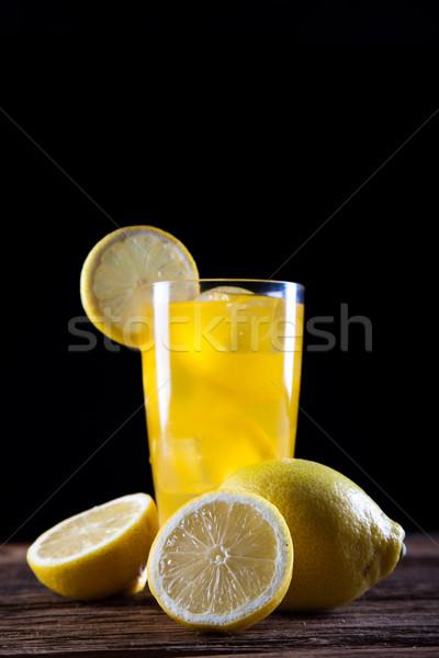 Cocktails Alkohol Getränke Set natürlichen farbenreich Stock foto © JanPietruszka