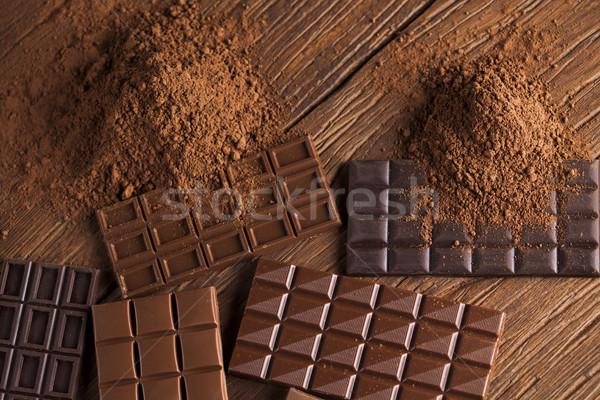 チョコレート 甘い ポッド 食品 デザート チョコレートバー ストックフォト © JanPietruszka