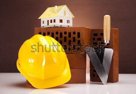Stock photo: Constructing Plans