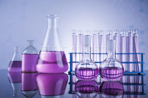 Kimyasal bilim laboratuvar cam kimya Stok fotoğraf © JanPietruszka
