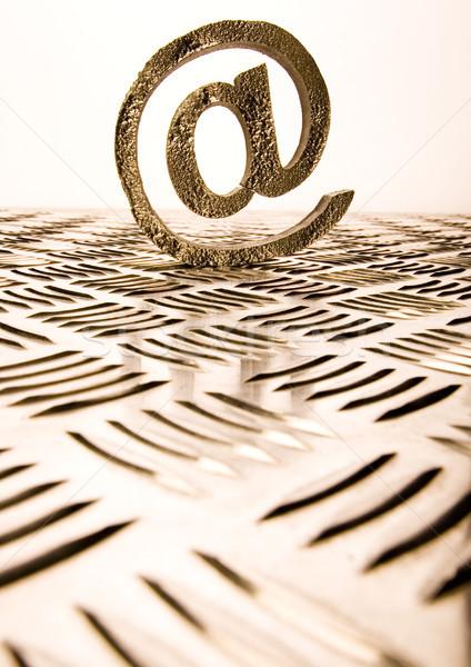 Internet symbolen populair business computer wereldbol Stockfoto © JanPietruszka
