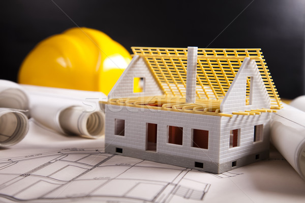 Photo stock: Maison · planification · architecture · art · science · bâtiments