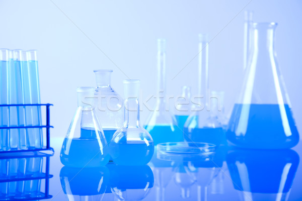 Laboratory glassware equipment Stock photo © JanPietruszka