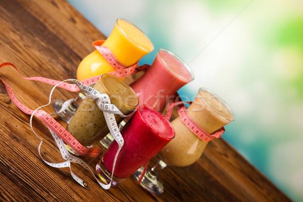 Photo stock: Fitness · saine · fraîches · fruits · santé