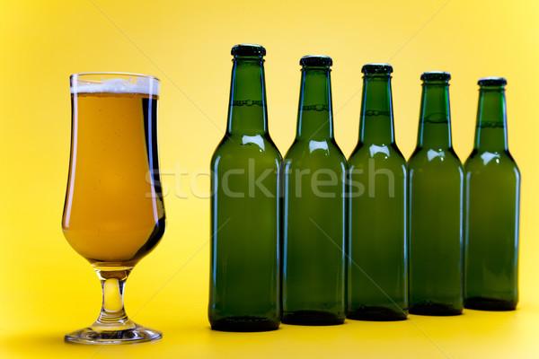 Lumineuses dynamique alcool fête bière Photo stock © JanPietruszka