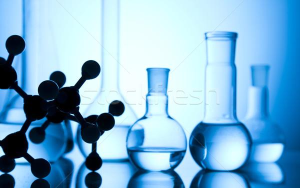 Laboratorio cristalleria luogo ricerca scientifica ambientale ricerca Foto d'archivio © JanPietruszka