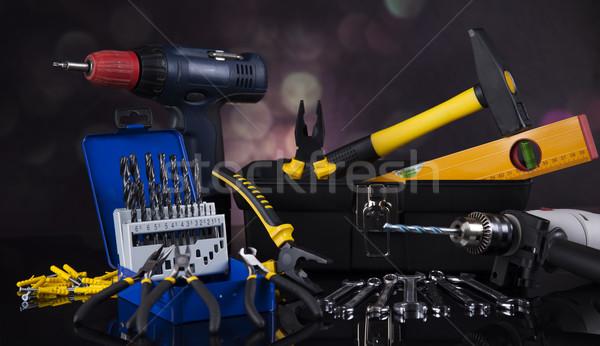 Construction tools, house renovation concept  Stock photo © JanPietruszka