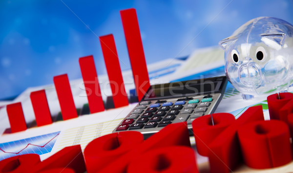 パーセンテージ 自然 カラフル にログイン 赤 金融 ストックフォト © JanPietruszka