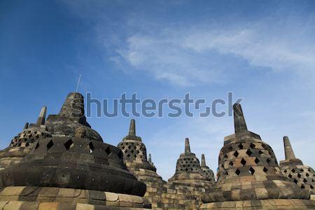Borobudur, ancient buddhist temple,  Indonesia Stock photo © JanPietruszka