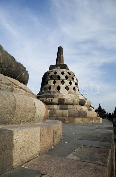 Tempio java Indonesia viaggio culto statua Foto d'archivio © JanPietruszka
