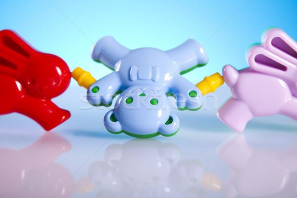 Child toy, bright tone vivid composition Stock photo © JanPietruszka