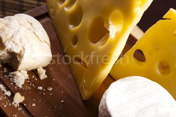 Zdjęcia stock: świeże · ser · wiejski · żywności · życia · ciemne