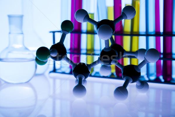 Laboratuvar cam yer bilimsel araştırma çevre araştırma Stok fotoğraf © JanPietruszka