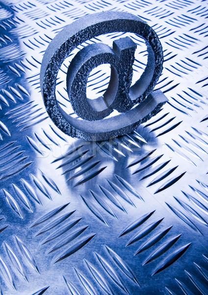 Internetu symbolika popularny działalności komputera świecie Zdjęcia stock © JanPietruszka