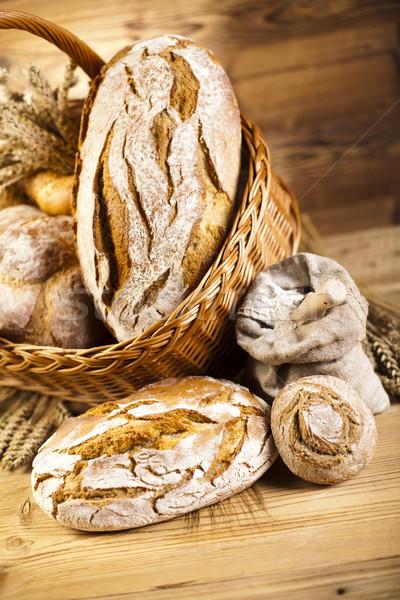 Сток-фото: традиционный · хлеб · плетеный · корзины · продовольствие · природы
