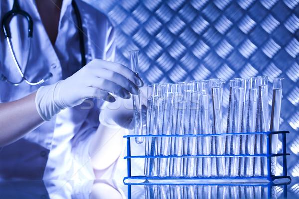 Laboratoire bio organique modernes médicaux verre Photo stock © JanPietruszka