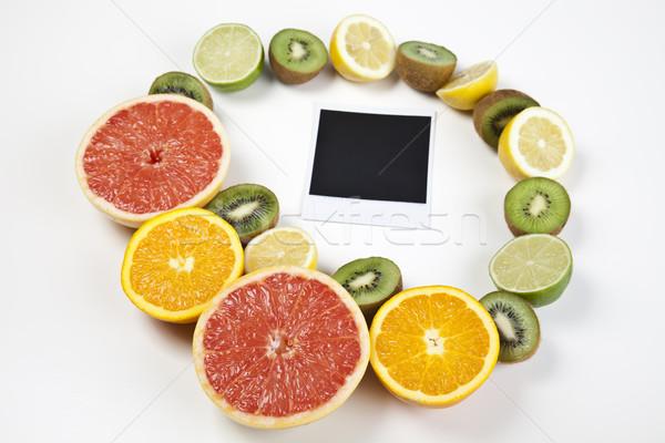 Ver frutas comer comprar brillante colorido Foto stock © JanPietruszka