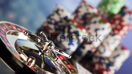 Las Vegas game, ambient light saturated theme Stock photo © JanPietruszka