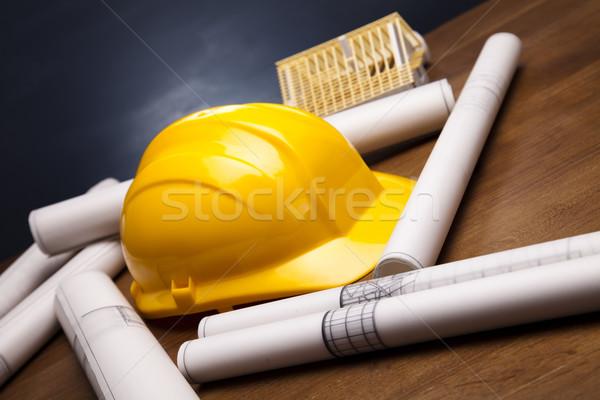 архитектура планов искусства науки зданий служба Сток-фото © JanPietruszka