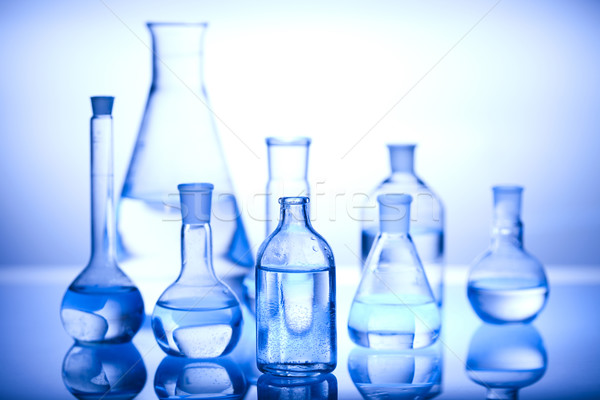 Laboratorium technologie gezondheid Blauw wetenschap lab Stockfoto © JanPietruszka