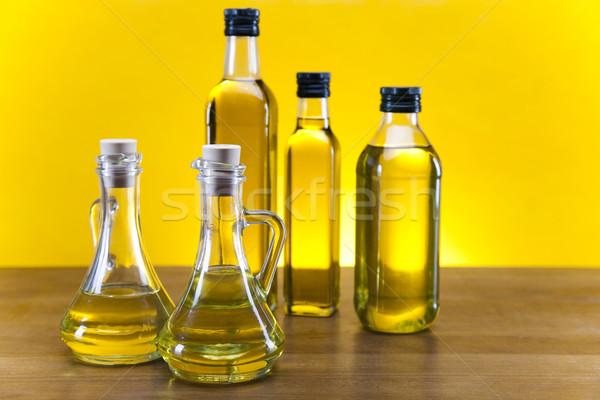 Extra maagd olijfolie boom natuur vruchten Stockfoto © JanPietruszka