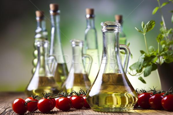 Stock photo: Olive Oil, Mediterranean rural theme