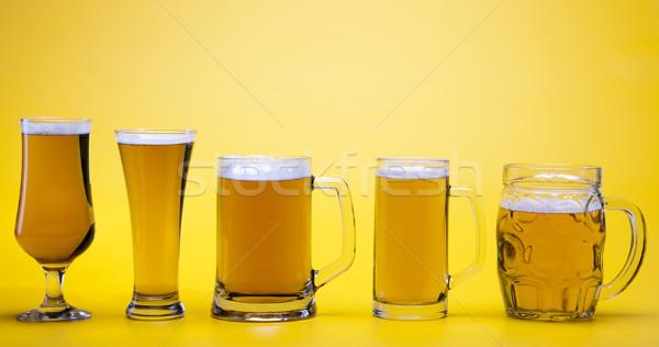 Csodálatos sör fényes vibráló alkohol buli Stock fotó © JanPietruszka
