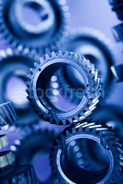Foto stock: Primer · plano · artes · industrial · mecanismo · negocios · coche