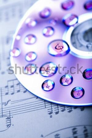 Symbols of internet, bright colorful vivid theme Stock photo © JanPietruszka