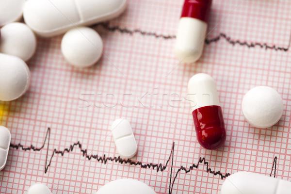 Tablets, Medicines, colorful bright medicine concept Stock photo © JanPietruszka