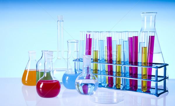 Stock fotó: Laboratórium · üveg · hely · tudományos · kutatás · környezeti · kutatás