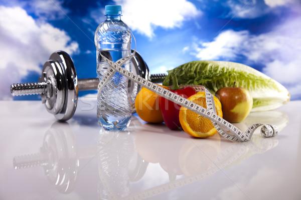 Food and measurement, fitness Stock photo © JanPietruszka