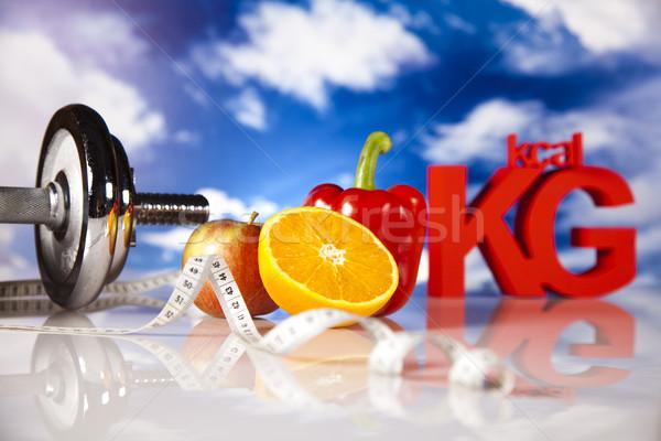 Foto stock: Vitaminas · comida · fitness · fruto · saúde