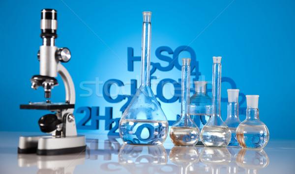 Stok fotoğraf: Laboratuvar · tıp · bilim · şişe · laboratuvar · kimya