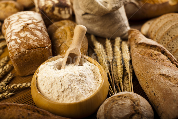 Composition with loafs of bread Stock photo © JanPietruszka