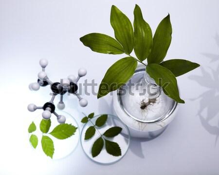 Laboratório bio orgânico moderno vidro medicina Foto stock © JanPietruszka