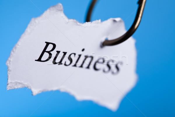 Business concept, natural colorful tone Stock photo © JanPietruszka